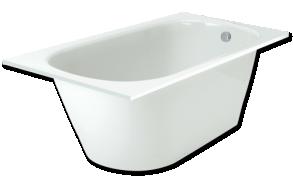 Cast stone bath VARIA 160x75cm