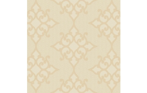 Decadence Crepe Moroccan Medallion Cream/Off-White