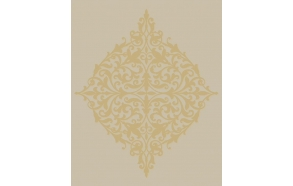 Decadence Classical Motif Gold/Cream