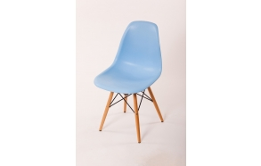chair Alexis, blue, beech feet