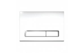 Flushing plate M08 white