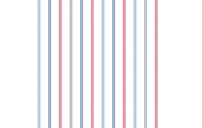 Hoopla Multi Stripe SidewallBlue