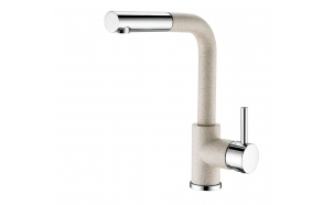 Kitchen mixer with stone color finish S2385-112