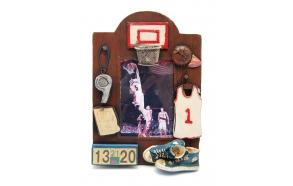 Pildiraam Basketball, 24.5x18cm