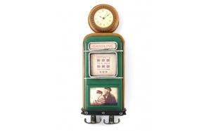 Decoration Gas pump w/hooks, 36x13x5.5cm