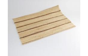 Placemat - linen 30x45cm, golden