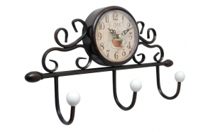 Wall clock Coffe Shop 36x20.5x8.5cm