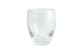 Tumbler Bubbles d8.4x h10.5cm, clear