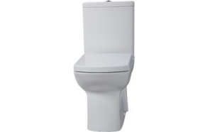 WC kompakt , valge, LARA, ilma istmeta (LR360+LR410+IT5030)