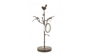 metallist linnumotiiviga ehtehoidja, 38cmH