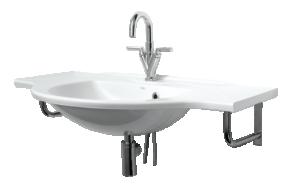 Cast stone basin BETA 100cm, no brackets