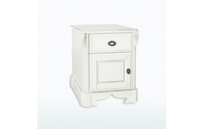 One Drawer/Door Bedside Chest (R/H hinged)