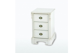 Three Drawer Bedside Chest