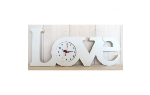 "wall clock ""LOVE"", L"