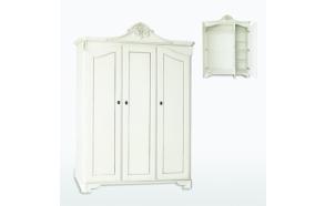 Kolme uksega riidekapp