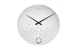 Wall clock Bubbles, mirror, glass d 43 cm