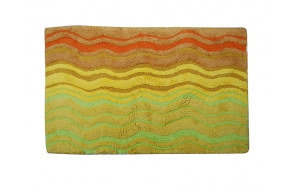 Bathmat SE-929 50x80 cm green/gold