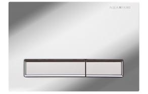 Flushing Plate M08v1chrom/white