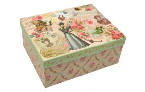 Paberist karp Manor Lady, 22x16x10 cm