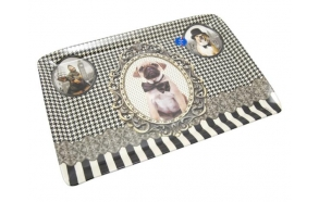 Kandik Barocco Dogs, 45x31,5 cm