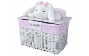 Basket Bunny XL h40 x60x40cm
