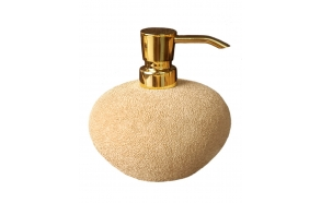 liquid soap dish GLAMOUR,beige