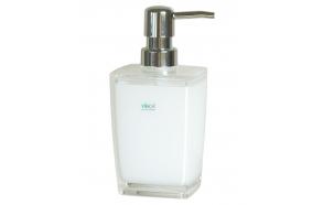 liquid soap dish KATI WHITE