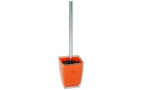 toilet brush w holder KATI ORANGE