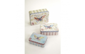Butterfly Tins, 3 sized