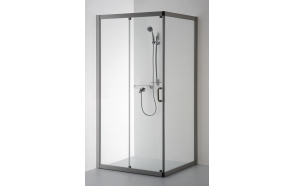 Shower enclosure LAIMA , clear glass