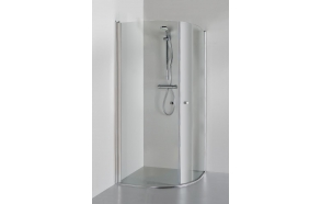 Shower enclosure KATARINA , clear glass