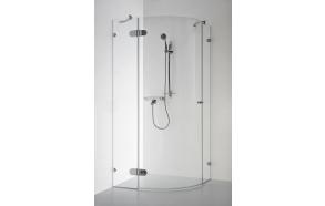 Shower enclosure BANGA , clear glass