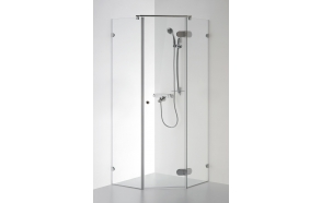 Shower enclosure NIDA , clear glass