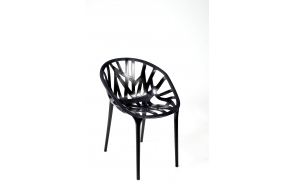 design chair,stackable,black