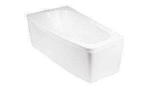 LUNO 150x80 cm right corner+ long panel