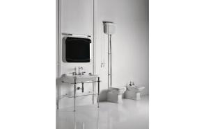wc Waldorf +paak, kroomitud fitingud, universaalne äravool