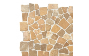 Mosaic marble Mustard Interlock
