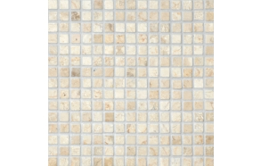 Square White marble 20x20mm