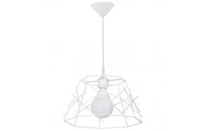 metal ceiling lamp, black, E27 1X60W