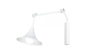 metal wall lamp, white,E27 1X60W