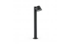 GINA õuevalgusti, tumehall, alumiinium, h 70 cm,1 x GU10 35W (ei ole komplektis)
