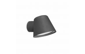 GINA õuevalgusti seinale, tumehall, alumiinium,1 x GU10 35W (ei ole komplektis)
