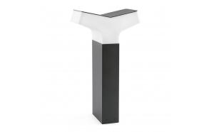 TAO  õuevalgusti, tumehall, alumiinium, h 64 cm,1 x E27 20W (ei ole komplektis)