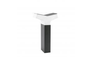 TAO  õuevalgusti, tumehall, alumiinium, h 40 cm,1 x E27 20W (ei ole komplektis)