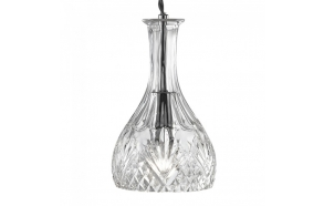 ceiling lamp Decanter,glass, 1XE14 40W