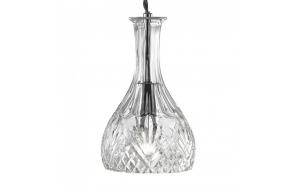 laelamp Decanter,klaas, 1XE14 40W