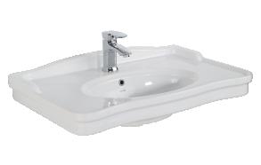 washbasin Antique 80 cm, white