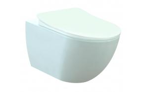rimfree seina wc Free, valge, ilma istmeta