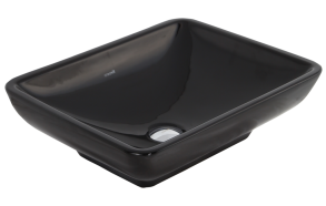 worktop washbasin, black