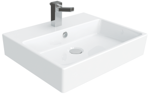 worktop wahbasin Nexus 40x50 cm, white